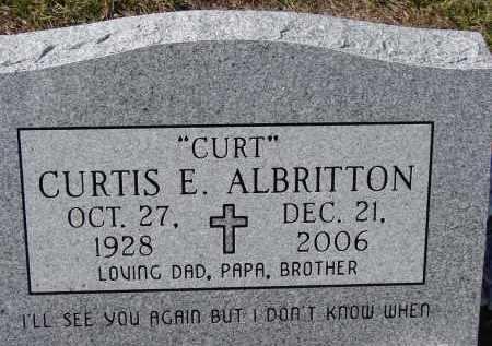 "ALBRITTON, CURTIS E. ""CURT"" - Sarasota County, Florida   CURTIS E. ""CURT"" ALBRITTON - Florida Gravestone Photos"