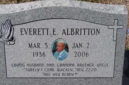 ALBRITTON, EVERETT E. - Sarasota County, Florida | EVERETT E. ALBRITTON - Florida Gravestone Photos