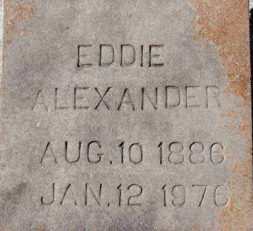 ALEXANDER, EDDIE - Sarasota County, Florida   EDDIE ALEXANDER - Florida Gravestone Photos