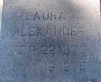 ALEXANDER, LAURA - Sarasota County, Florida | LAURA ALEXANDER - Florida Gravestone Photos