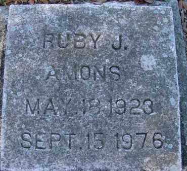 AMONS, RUBY J. - Sarasota County, Florida   RUBY J. AMONS - Florida Gravestone Photos