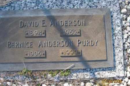ANDERSON, DAVID E - Sarasota County, Florida | DAVID E ANDERSON - Florida Gravestone Photos