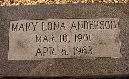 ANDERSON, MARY LONA - Sarasota County, Florida | MARY LONA ANDERSON - Florida Gravestone Photos
