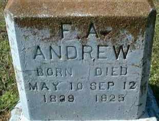 ANDREW, FRANK A. - Sarasota County, Florida | FRANK A. ANDREW - Florida Gravestone Photos