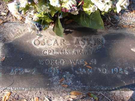 ASKIN (VETERAN WWII), OSCAR - Sarasota County, Florida   OSCAR ASKIN (VETERAN WWII) - Florida Gravestone Photos