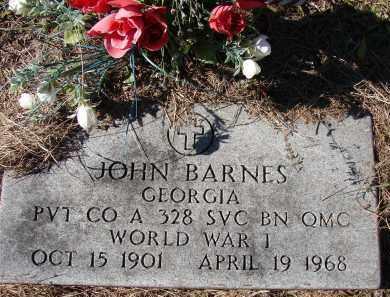 BARNES (VETERAN WWI), JOHN - Sarasota County, Florida | JOHN BARNES (VETERAN WWI) - Florida Gravestone Photos