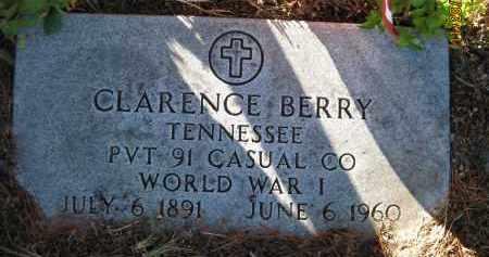 BERRY (VETERAN WWI), CLARENCE (NEW) - Sarasota County, Florida | CLARENCE (NEW) BERRY (VETERAN WWI) - Florida Gravestone Photos