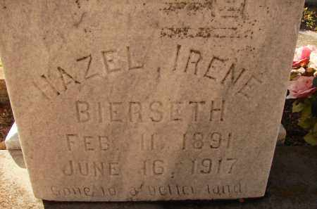 BIERSETH, HAZEL IRENE - Sarasota County, Florida | HAZEL IRENE BIERSETH - Florida Gravestone Photos
