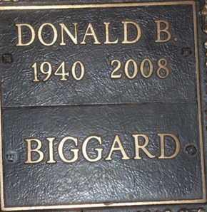BIGGARD, DONALD B. - Sarasota County, Florida   DONALD B. BIGGARD - Florida Gravestone Photos
