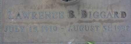 BIGGARD, LAWRENCE B. - Sarasota County, Florida   LAWRENCE B. BIGGARD - Florida Gravestone Photos