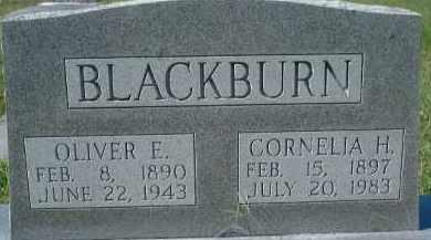 BLACKBURN, OLIVER EARL - Sarasota County, Florida | OLIVER EARL BLACKBURN - Florida Gravestone Photos