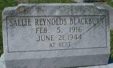 BLACKBURN, SALLIE - Sarasota County, Florida | SALLIE BLACKBURN - Florida Gravestone Photos