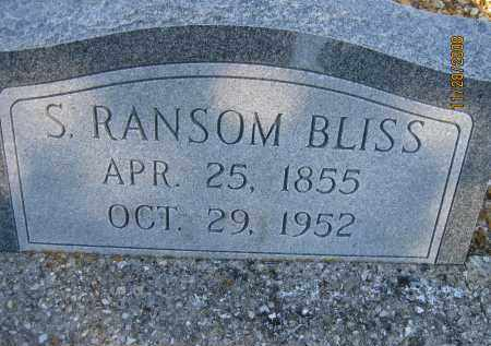BLISS, S RANSOM - Sarasota County, Florida | S RANSOM BLISS - Florida Gravestone Photos