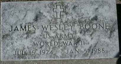 BOONE (VETERAN WWII), JAMES WESLEY - Sarasota County, Florida | JAMES WESLEY BOONE (VETERAN WWII) - Florida Gravestone Photos