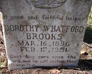 WHATFORD BROOKS, DOROTHY - Sarasota County, Florida | DOROTHY WHATFORD BROOKS - Florida Gravestone Photos
