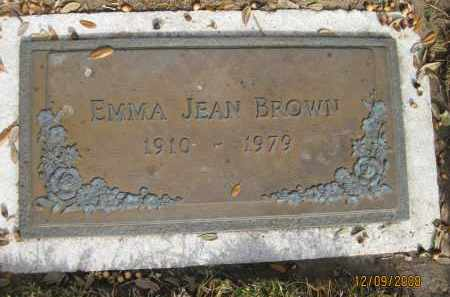 BROWN, EMMA JEAN - Sarasota County, Florida | EMMA JEAN BROWN - Florida Gravestone Photos