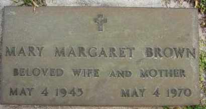 BROWN, MARY MARGARET - Sarasota County, Florida | MARY MARGARET BROWN - Florida Gravestone Photos