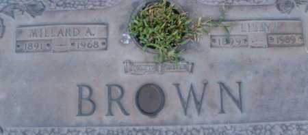BROWN, MILLARD  A. - Sarasota County, Florida | MILLARD  A. BROWN - Florida Gravestone Photos