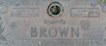 BROWN, MARY B. - Sarasota County, Florida   MARY B. BROWN - Florida Gravestone Photos