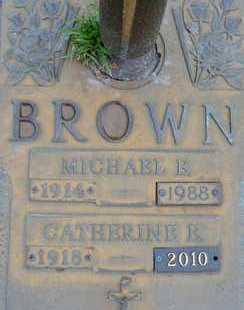 BROWN, MICHAEL E. - Sarasota County, Florida | MICHAEL E. BROWN - Florida Gravestone Photos