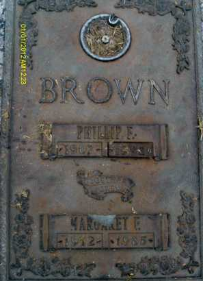 BROWN, PHILLIP  F. - Sarasota County, Florida | PHILLIP  F. BROWN - Florida Gravestone Photos