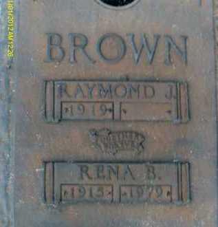 BROWN, RENA B. - Sarasota County, Florida | RENA B. BROWN - Florida Gravestone Photos