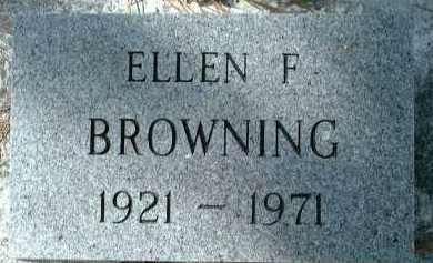 BROWNING, ELLEN F. - Sarasota County, Florida | ELLEN F. BROWNING - Florida Gravestone Photos