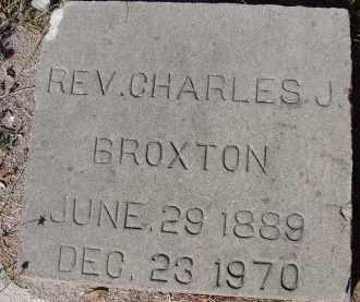 BROXTON, REV. CHARLES J. - Sarasota County, Florida | REV. CHARLES J. BROXTON - Florida Gravestone Photos