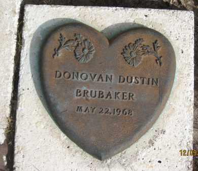BRUBAKER, DONOVAN DUSTIN - Sarasota County, Florida | DONOVAN DUSTIN BRUBAKER - Florida Gravestone Photos