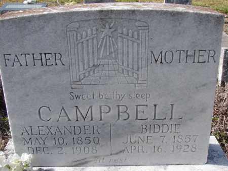 CAMPBELL, ALEXANDER - Sarasota County, Florida | ALEXANDER CAMPBELL - Florida Gravestone Photos