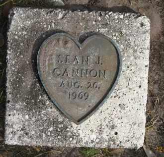 CANNON, SEAN J - Sarasota County, Florida | SEAN J CANNON - Florida Gravestone Photos