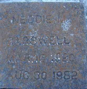 CARSWELL, NEDDIE M. - Sarasota County, Florida | NEDDIE M. CARSWELL - Florida Gravestone Photos