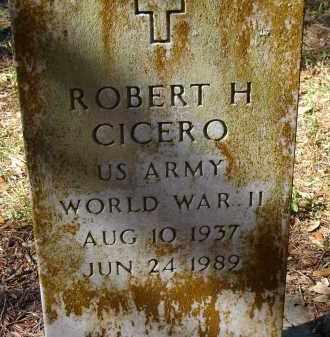 CICERO (VETERAN WWII), ROBERT H. - Sarasota County, Florida | ROBERT H. CICERO (VETERAN WWII) - Florida Gravestone Photos