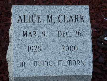 CLARK, ALICE M. - Sarasota County, Florida | ALICE M. CLARK - Florida Gravestone Photos
