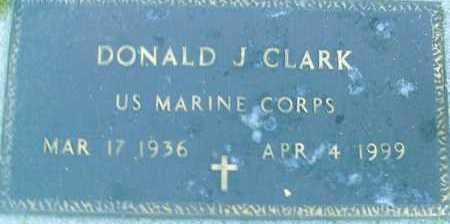CLARK, DONALD  J. - Sarasota County, Florida | DONALD  J. CLARK - Florida Gravestone Photos