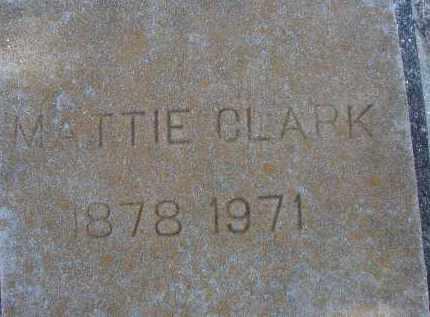 CLARK, MATTIE - Sarasota County, Florida | MATTIE CLARK - Florida Gravestone Photos