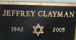 CLAYMAN, JEFFREY - Sarasota County, Florida | JEFFREY CLAYMAN - Florida Gravestone Photos