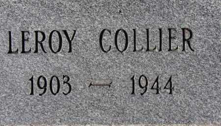 COLLIER, LEROY - Sarasota County, Florida   LEROY COLLIER - Florida Gravestone Photos