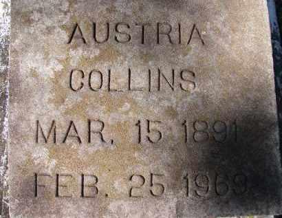 COLLINS, AUSTRIA - Sarasota County, Florida | AUSTRIA COLLINS - Florida Gravestone Photos