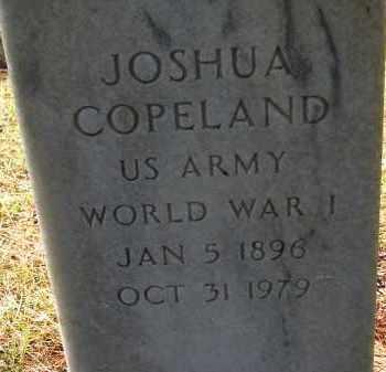 COPELAND (VETERAN WWI), JOSHUA - Sarasota County, Florida   JOSHUA COPELAND (VETERAN WWI) - Florida Gravestone Photos