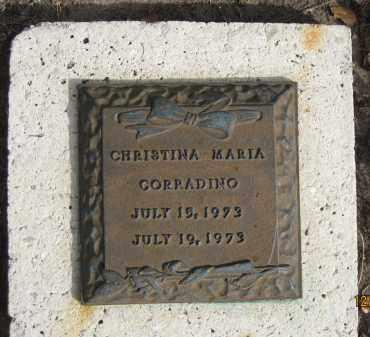 CORRADINO, CHRISTINA MARIA - Sarasota County, Florida | CHRISTINA MARIA CORRADINO - Florida Gravestone Photos