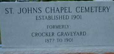 *CROCKER, GRAVEYARD SIGN - Sarasota County, Florida | GRAVEYARD SIGN *CROCKER - Florida Gravestone Photos