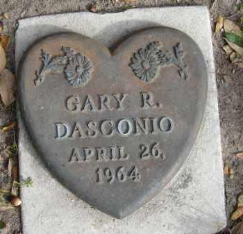 DASCONIO, GARY R - Sarasota County, Florida | GARY R DASCONIO - Florida Gravestone Photos