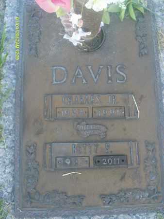 DAVIS, BETTY  P. - Sarasota County, Florida | BETTY  P. DAVIS - Florida Gravestone Photos