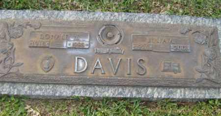 DAVIS, JULIA A - Sarasota County, Florida | JULIA A DAVIS - Florida Gravestone Photos