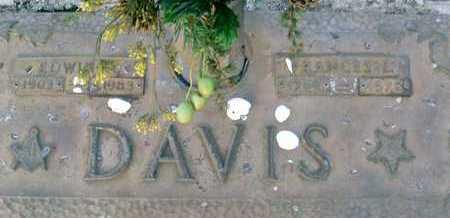 DAVIS, FRANCES E. - Sarasota County, Florida   FRANCES E. DAVIS - Florida Gravestone Photos