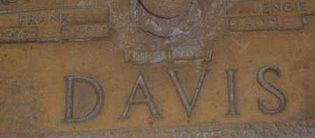 DAVIS, FRANK - Sarasota County, Florida   FRANK DAVIS - Florida Gravestone Photos