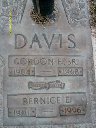 DAVIS, GORDON E.  SR. - Sarasota County, Florida | GORDON E.  SR. DAVIS - Florida Gravestone Photos