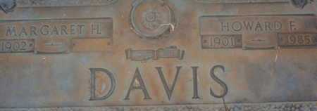DAVIS, HOWARD F. - Sarasota County, Florida | HOWARD F. DAVIS - Florida Gravestone Photos