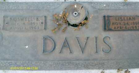 DAVIS, LILLIAN - Sarasota County, Florida | LILLIAN DAVIS - Florida Gravestone Photos